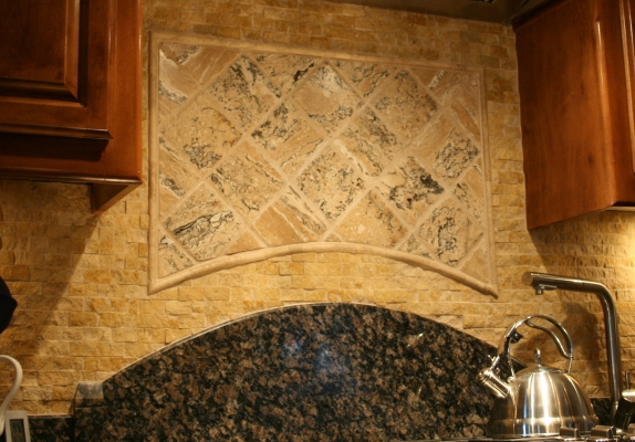 Granite Backsplash in Lancaster CA